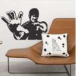 Bruce Lee Decal Sticker