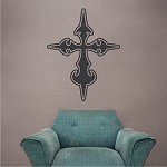 Stylish Cross Wall Decal