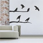 Crow Decal Stickers