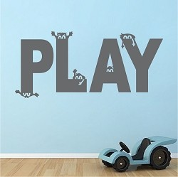 Play Room Vinyl Wall Decal Sticker