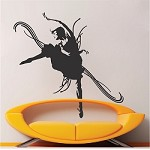 Dance Studio Decal Sticker Design