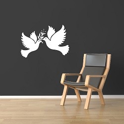 Freedom Birds Vinyl Decal Sticker