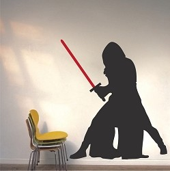 Mysterious Guy Wall Decal