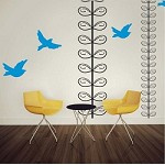 Elegant Vines Wall Art Design