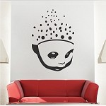 Scattered Brain Wall Decal