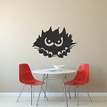 Monster Peeking Decal Sticker