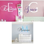 Nursery Monogram Wall Decal
