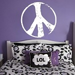 Peace Stamp Wall Decal