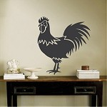 Rooster Art Decal Decor