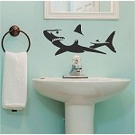 Shark Wall Decal Sticker
