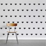 Hearts Wall Decal Stickers