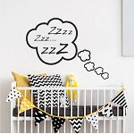 Snoozing Cloud Bedroom Decal