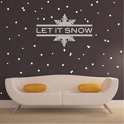 Let It Snow Wall Decoration