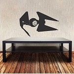 Fighter Ship Wall Decal Sticker