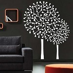 Round Tree Wall Decals