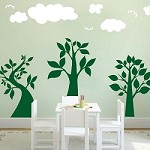 Three Lil' Trees Wall Art Design