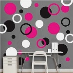 Rings and Dots Wall Decals