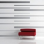 Custom Wall Stripes Sample (Five)
