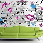 Urban Chick Wall Decals