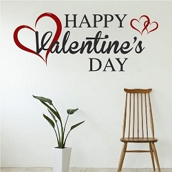 Happy Valentine's Day Wall Decal