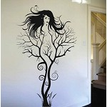 Abstract Tree Woman