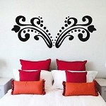 Border Wall Decal e59