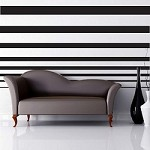 Decreasing Stripes For Walls