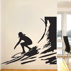 Surfer Wall Decal