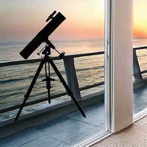 Optical Telescope Decal