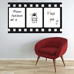 Dry Erase Film Strip Wall Decal